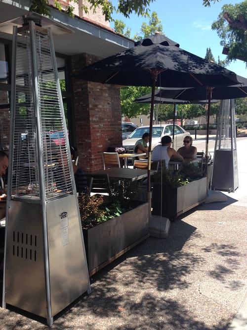 corten planter patio 1